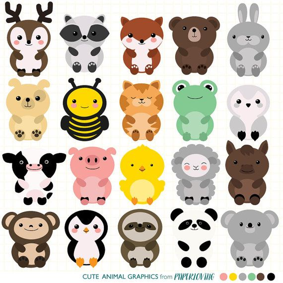 vector transparent library Pin on nido . Cute animal clipart