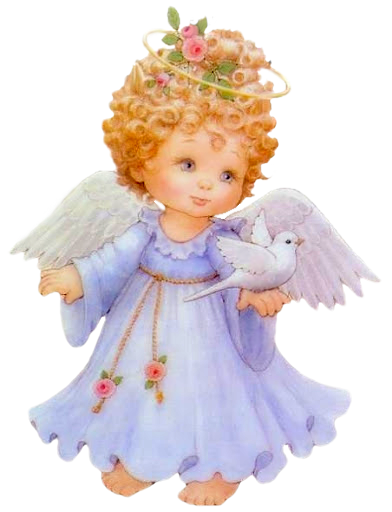 png library library Cute Angel Free Clipart