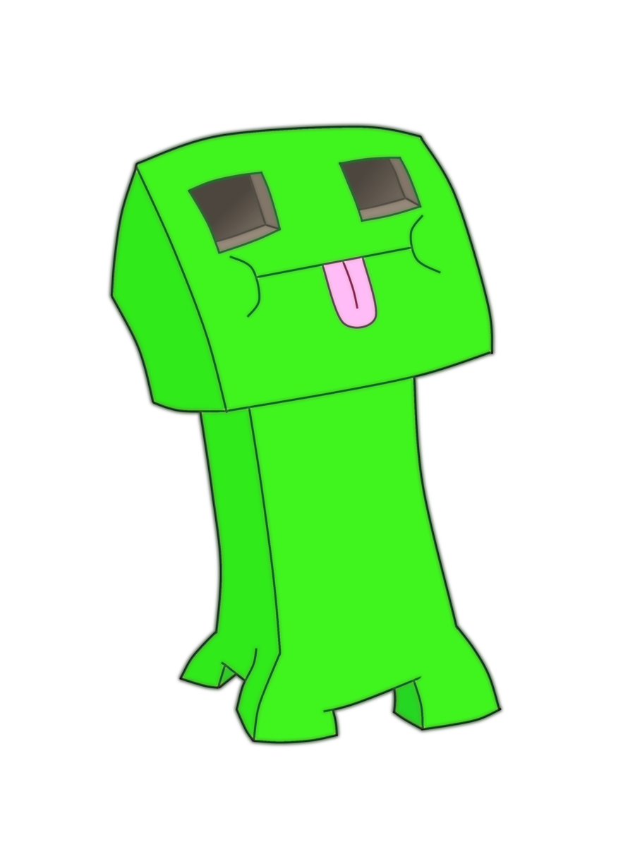 transparent download Creeper drawing. Minecraft at getdrawings com.