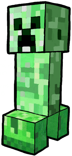 picture royalty free stock How to draw a. Creeper drawing.