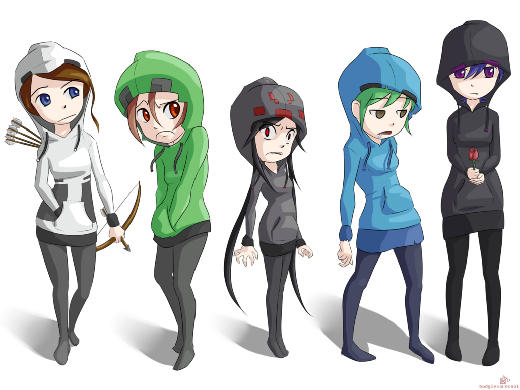 banner free download pictures of mine craft mobs as human girls