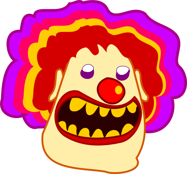 clip freeuse download Cartoon Clown Clip Art at Clker