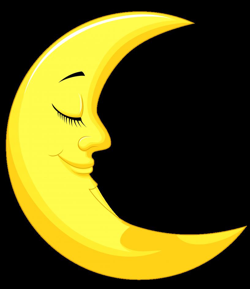 picture download Moon free download jokingart. Crescent clipart happy