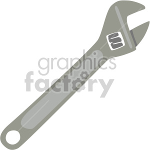 clipart royalty free library Royalty free . Crescent wrench clipart