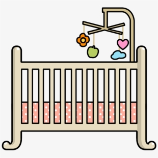 png transparent download Crib clipart. Free baby cliparts silhouettes