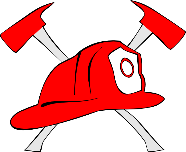 picture free library Firefighter hat clipart. Tools fire fighter free