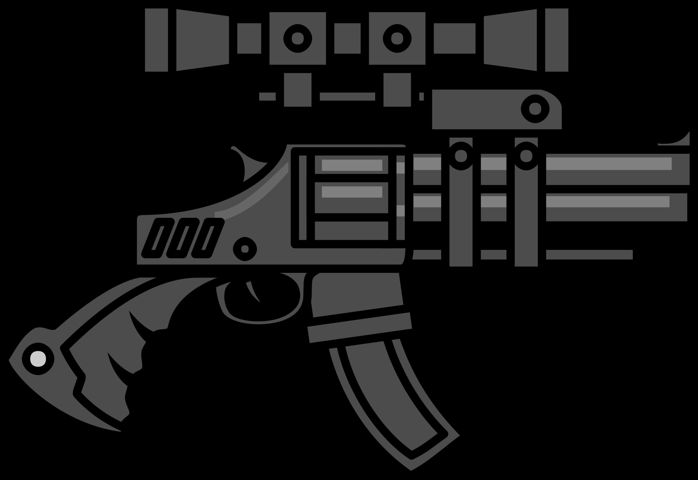 png freeuse download Machine Gun Clipart hunting rifle
