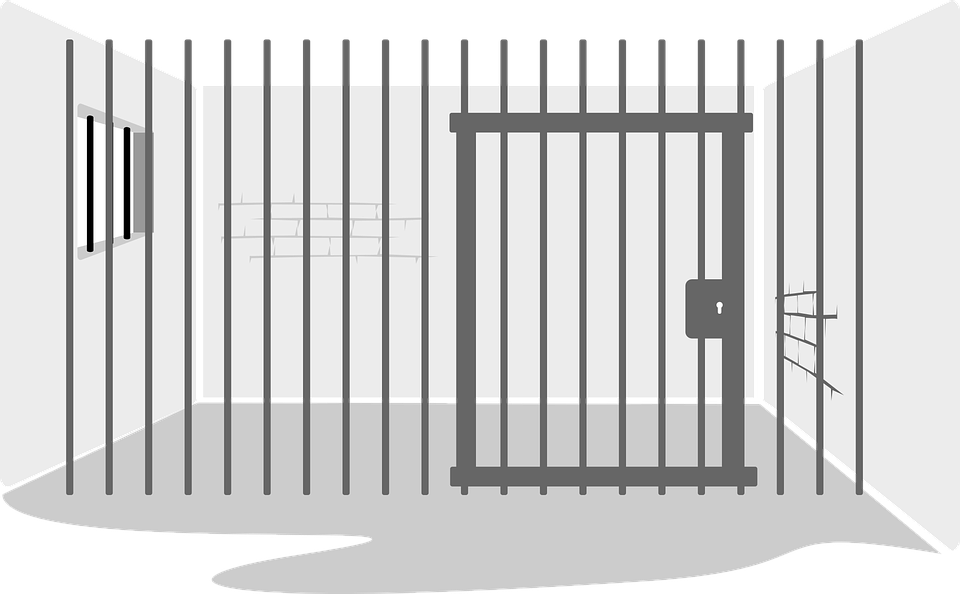 clip art black and white library Free PNG Jail Transparent Jail