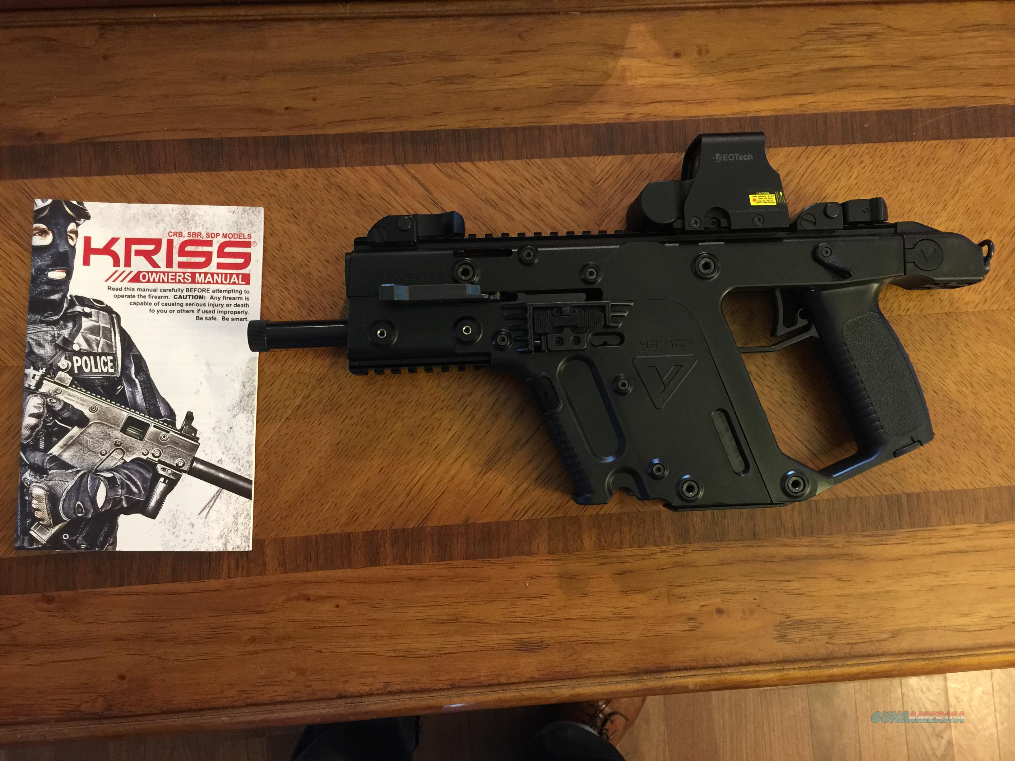 graphic download Kriss sdp w eotech. Vector carbine holographic sight