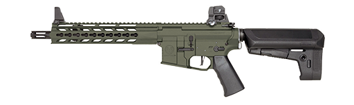 royalty free library Vector carbine two tone. Krytac home trident mkii