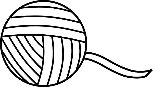 vector royalty free stock knitting Coloring Pages