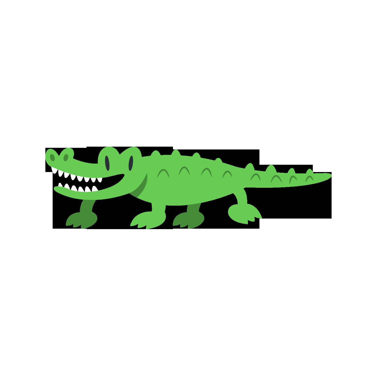 svg stock Crocodiles Cartoon Animal Clip art