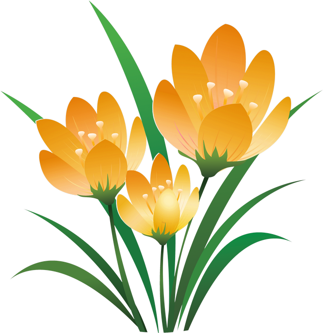 vector royalty free download crocus drawing snow painting #111094689