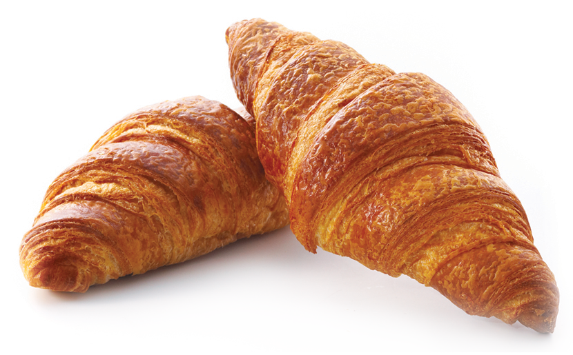 clip black and white library Croissant transparent. Png images free download.