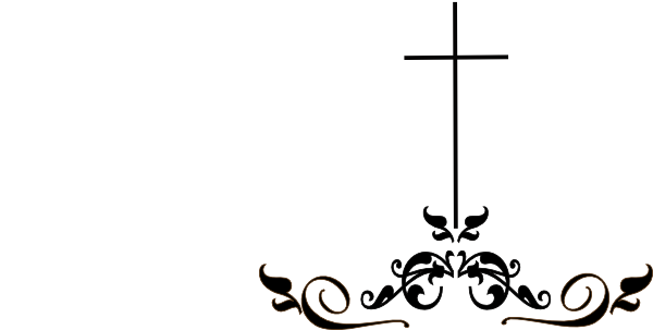 svg library download Cross black and white clipart. A beautiful image featuring