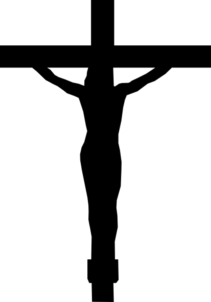 clip transparent download Jesus cliparts co pinterest. Black cross clipart