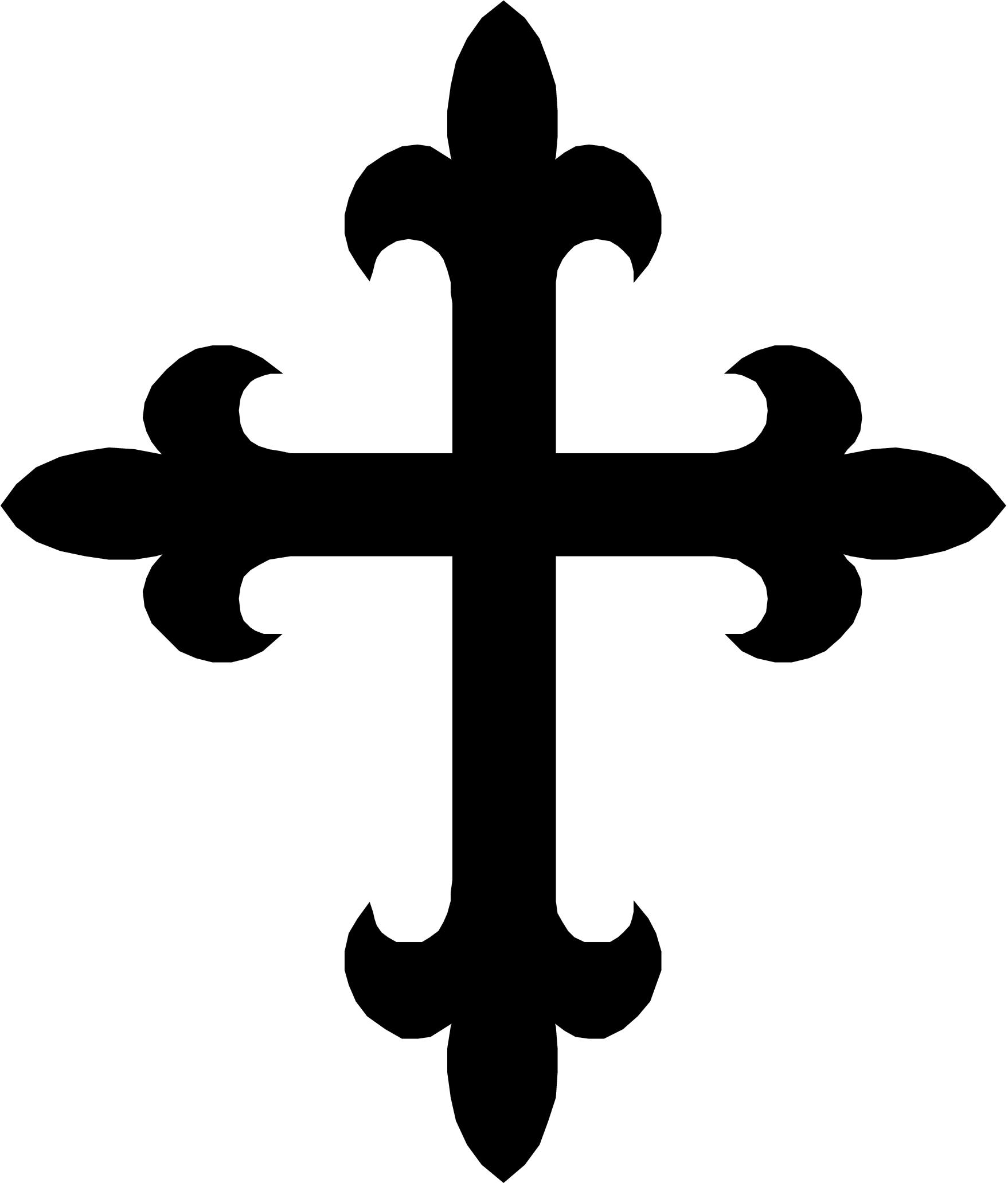 banner free download White wooden clip art. Cross clipart black