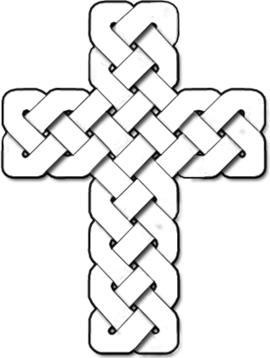 picture stock Cross clipart black and white png. Image celtic christart com