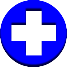 vector black and white library Pharmacy medical round blue. Cross clipart medicine