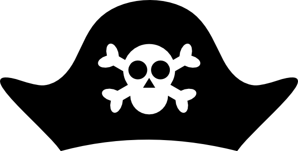 svg free download Pirate Hat Template