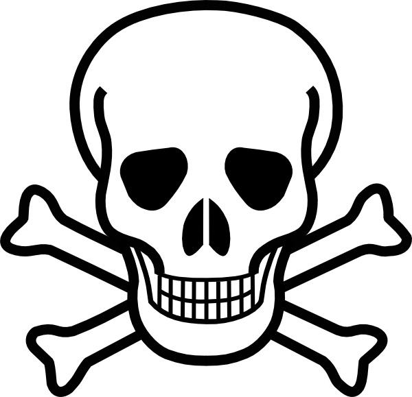 free Crossbones clipart. Skull and clip art