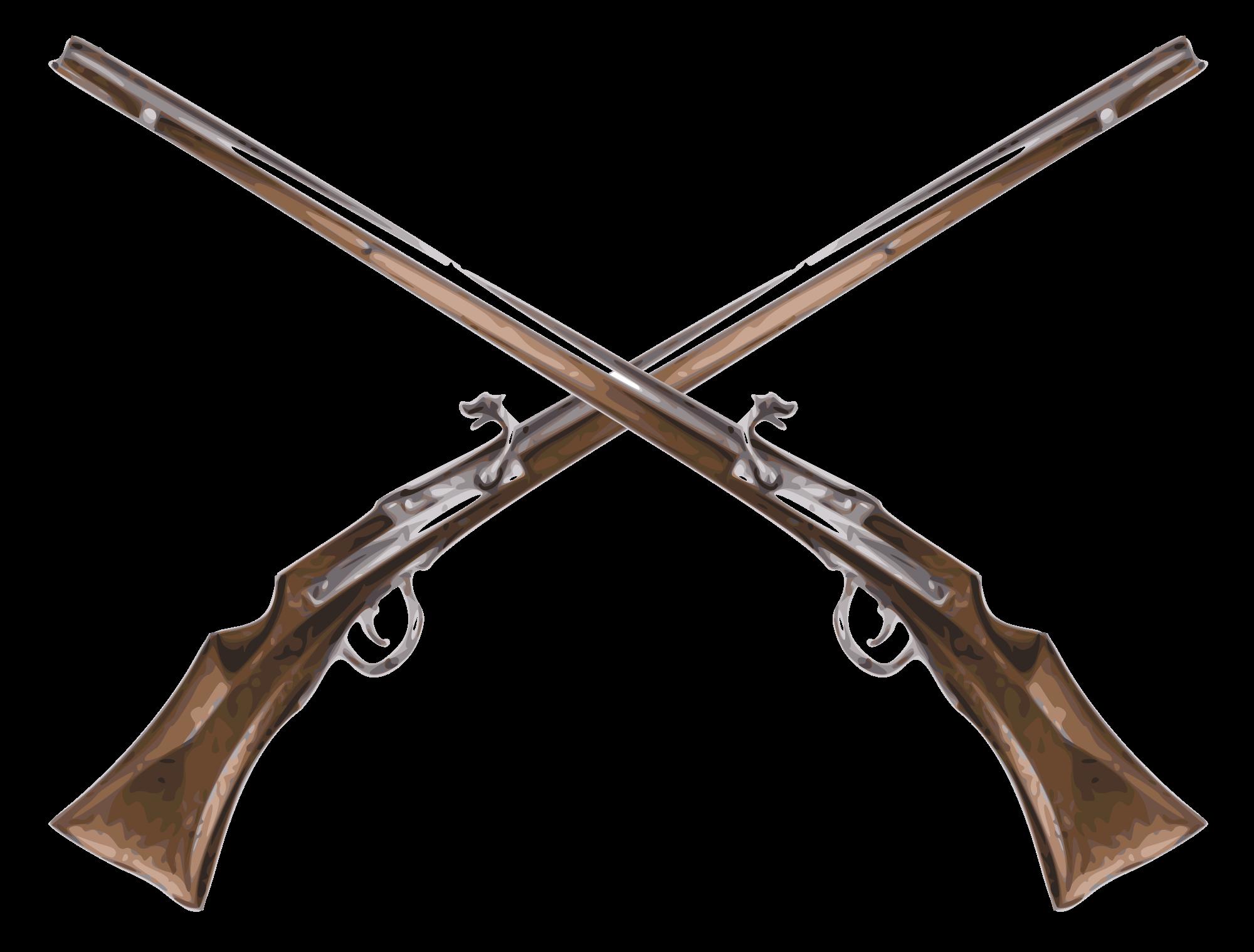 clipart royalty free stock Musket Flintlock Firearm Matchlock Rifle