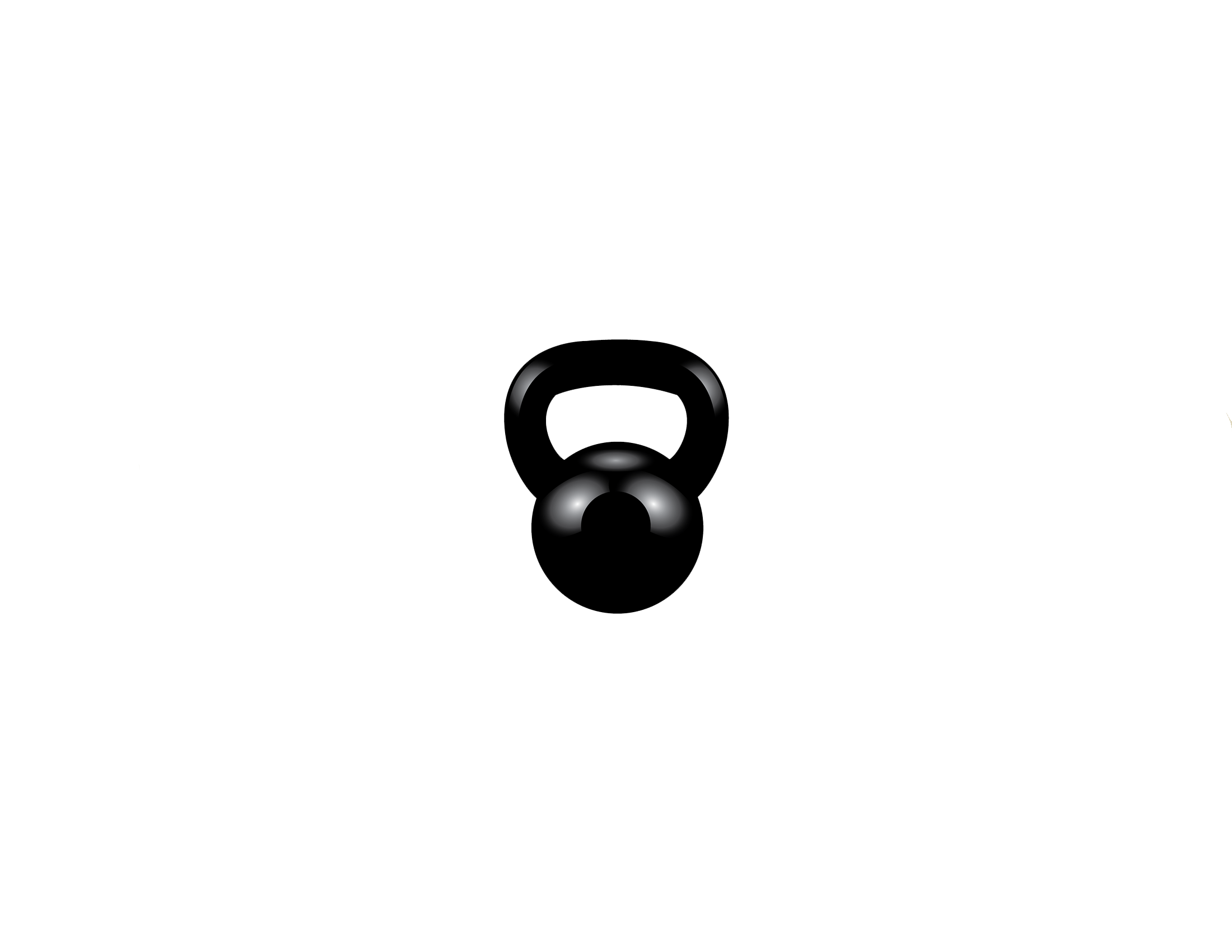 jpg black and white download Lhbc amrap longhorn bbarbell. Crossfit kettlebell clipart
