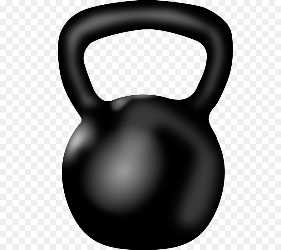 svg royalty free Crossfit kettlebell clipart.