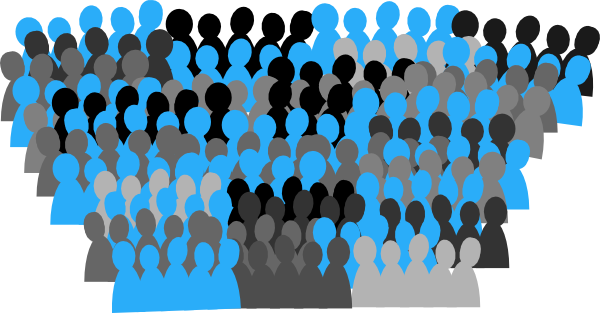 png library library Crowd clipart. Unc clip art at