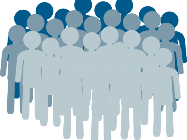 clipart transparent library Crowd Clipart