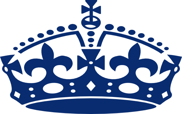 banner library British . Crown clipart.