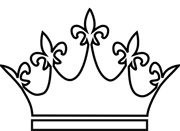 banner freeuse stock Drawing s crown. King and queen crowns