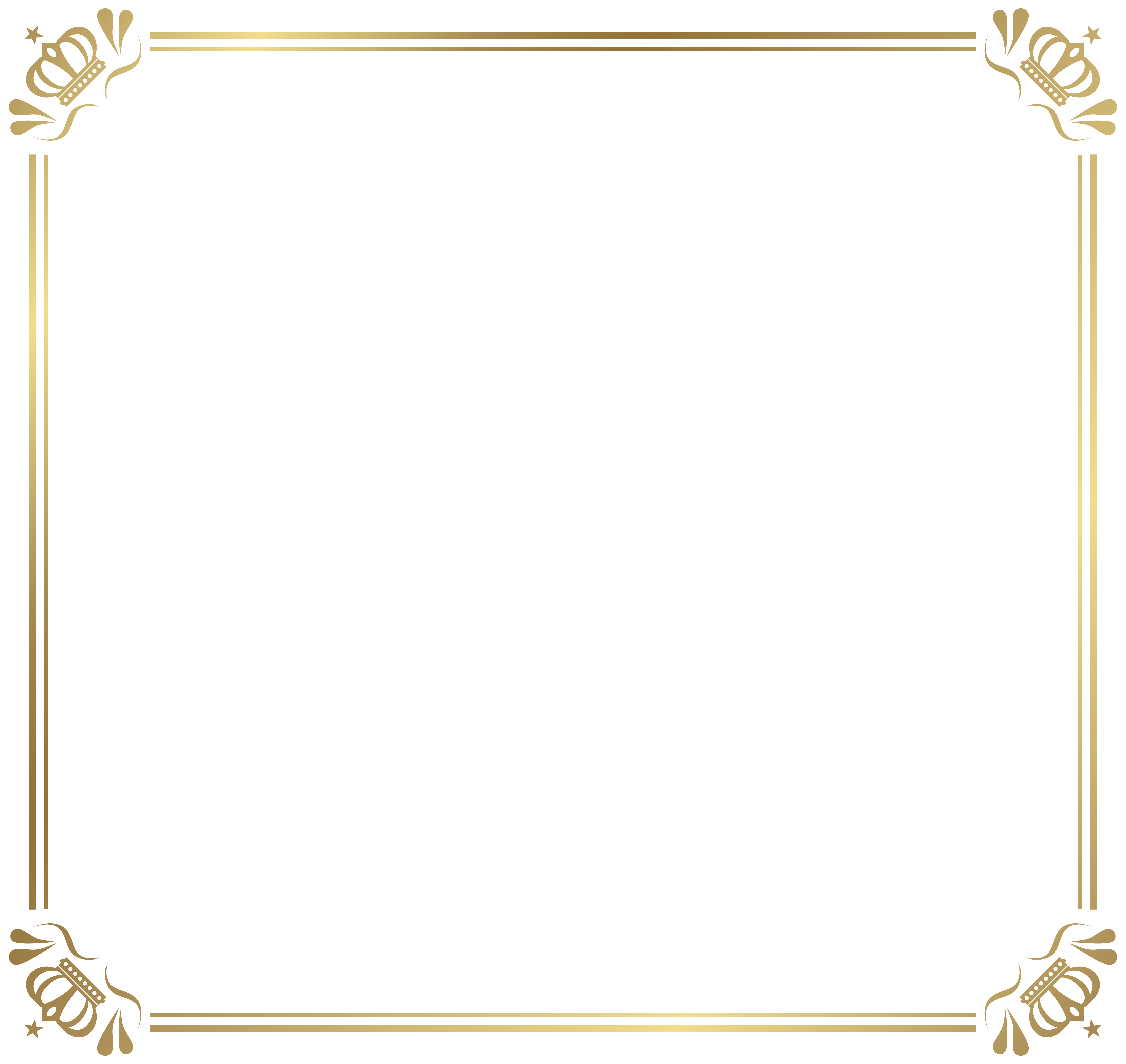 png library stock Menu clipart menu frame. Border with crowns png.