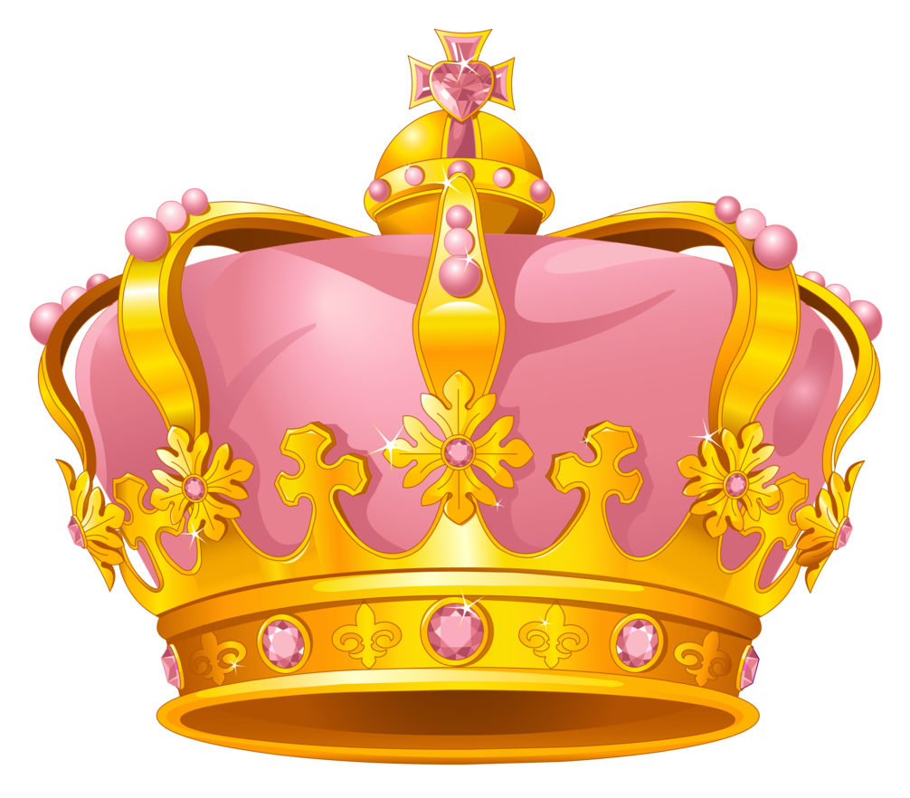 image stock Crown ice free on. King and queen crowns clipart
