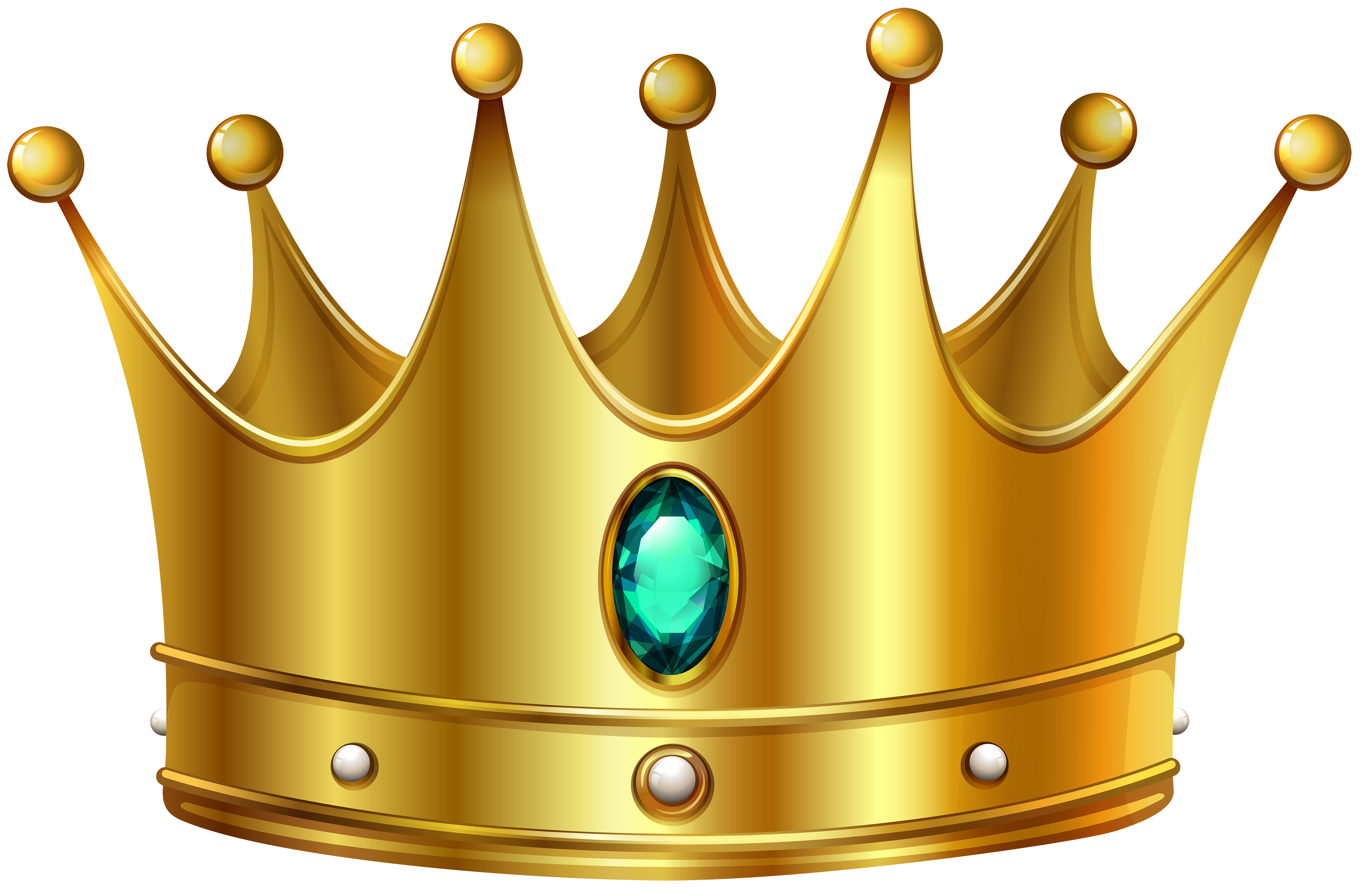 picture royalty free download Gold crown with diamond. Crowns clipart.
