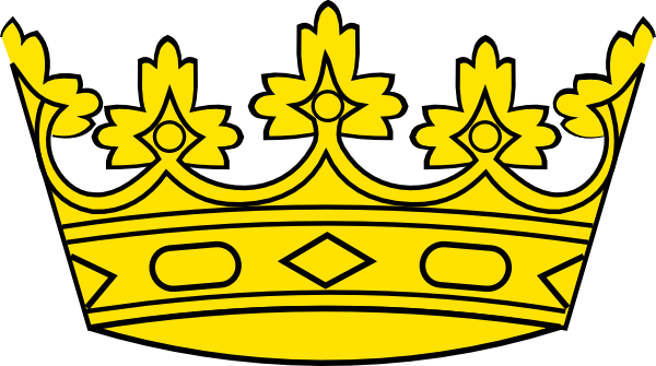 image black and white library Crowns clipart big crown. Free cliparts download clip