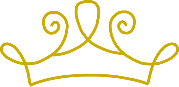 graphic free  collection of crowns. Gold tiara clipart