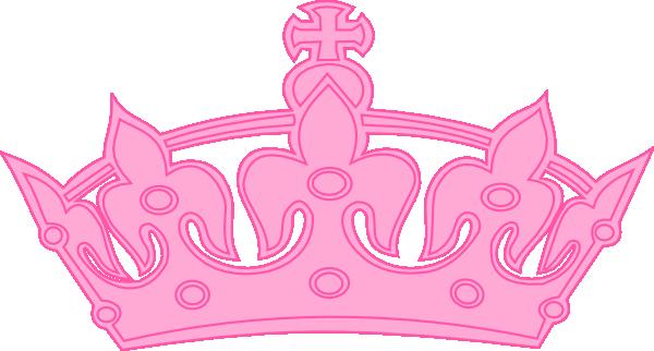 freeuse library Princess tiara clipart. Pink crown .