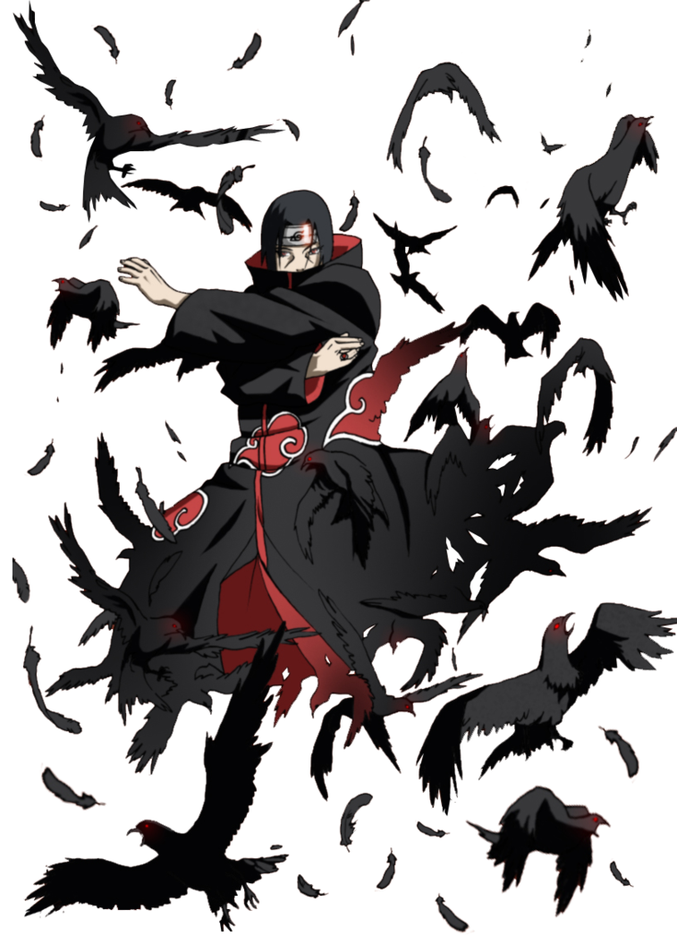 download Itachi crow jutsu by xUzumaki