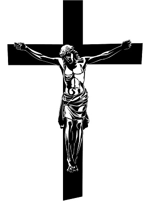 graphic freeuse library Free cliparts download clip. Crucifix clipart