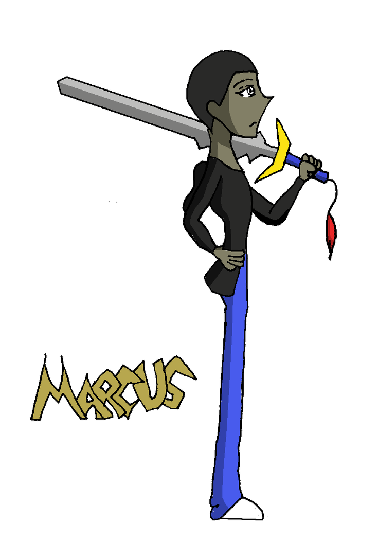 clipart library library Crude drawing. Of marcus by ratherion