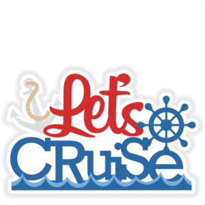 vector library stock Cruise clipart. Let s title svg