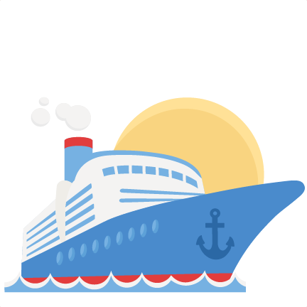 clip art freeuse Boat svg cruise. Ship clipart dinner free