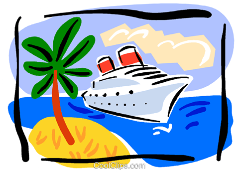 picture black and white download Caribbean clip. Ferry clipart cruise free