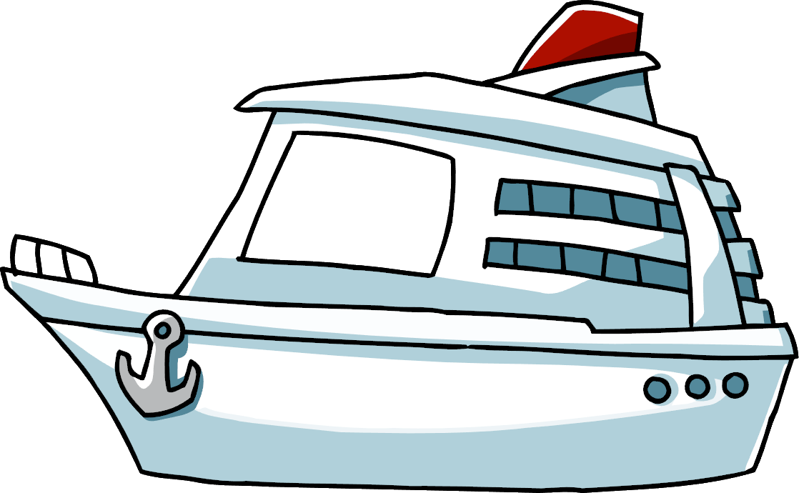 image stock Yacht clipart crucero. Cruise ship scribblenauts wiki
