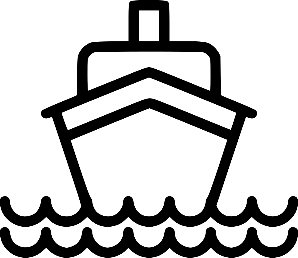 graphic freeuse library Ship sea luxury png. Boat svg cruise