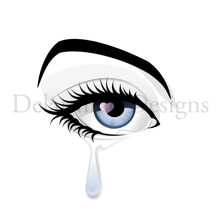 banner black and white library Cry clipart tear. Graphics illustrations free download