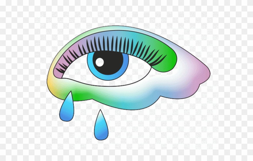 png freeuse download Sad eye gif png. Cry clipart tear