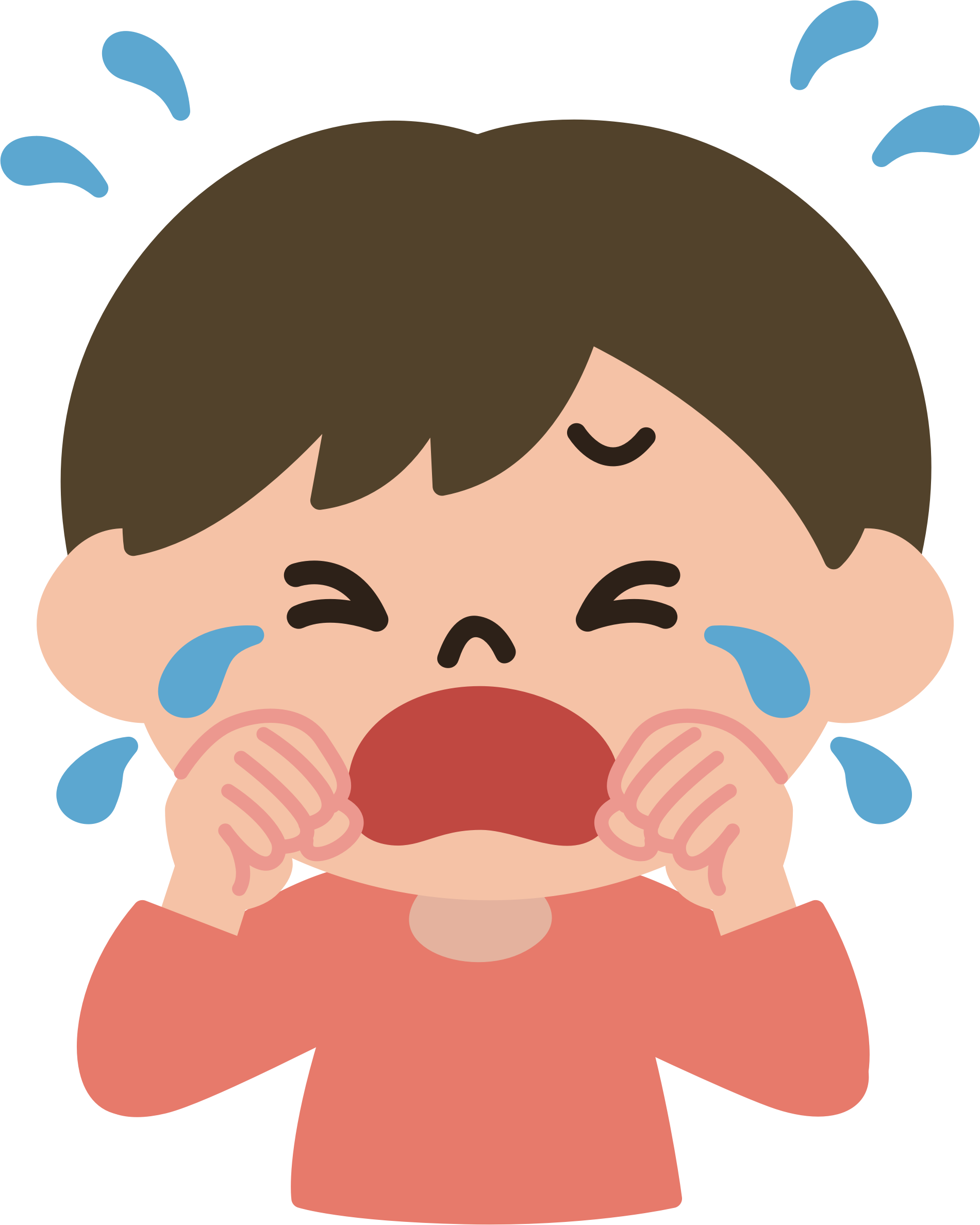 clipart Male big image png. Crying boy clipart