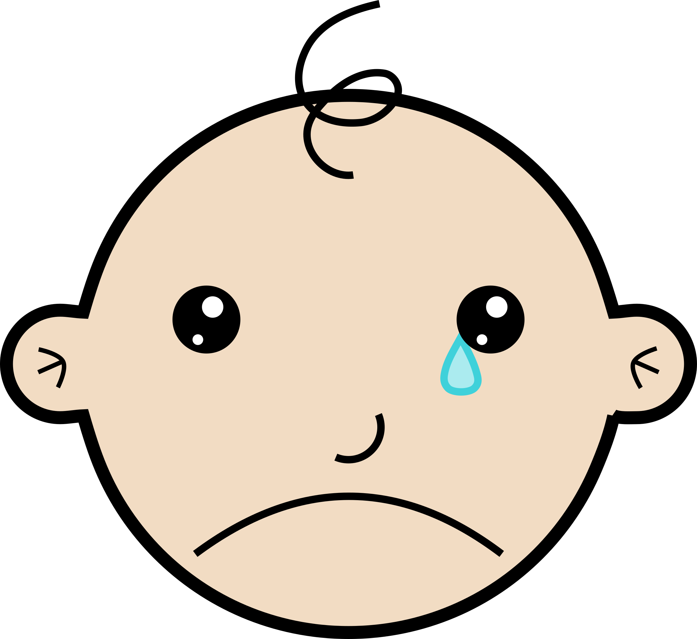 vector library Cry clipart big baby. Crying image png